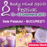Body Mind Spirit Festival 11-13 octombrie