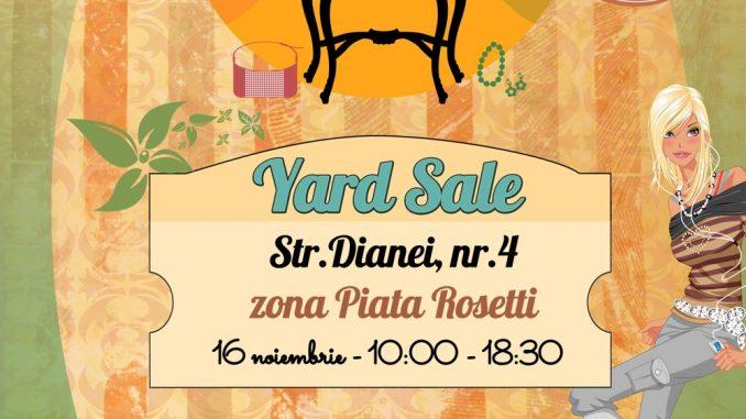Yard Sale 16 noiembrie