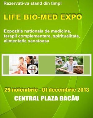 LIFE BIO-MED EXPO BACAU 2013