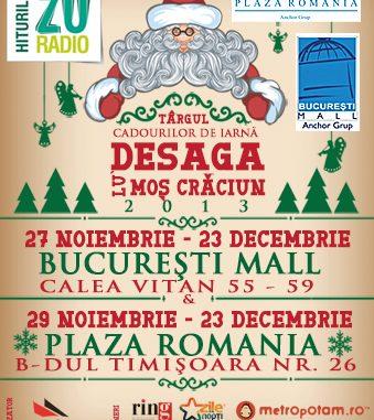 Targ Desaga lu'Mos Craciun 2013