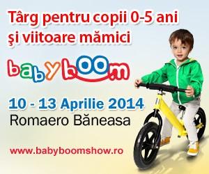 BABY BOOM SHOW - aprilie 2014