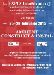 AMBIENT CONSTRUCT&INSTAL 2015 - Cluj Napoca