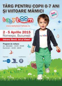 BABY BOOM SHOW 2-5 aprilie 2015