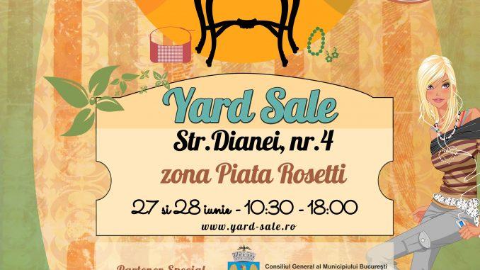 Yard Sale 27-28 iunie 2015 / Bucuresti, Dianei 4