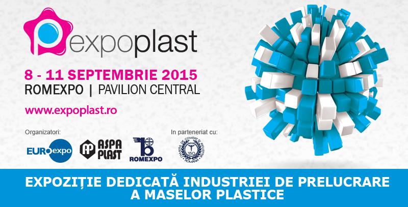 EXPO PLAST 2015 / 8-11 septembrie, Romexpo