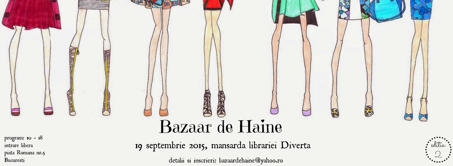 Bazaar de Haine - 19 septembrie 2015, Bucuresti