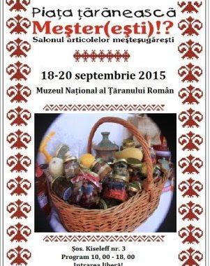 Targul de Toamna la Muzeul National al Taranului Roman