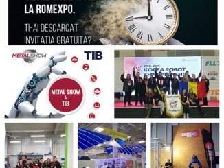 Echipa Naţională de Robotică AutoVortex vine la METAL SHOW & TIB 2019