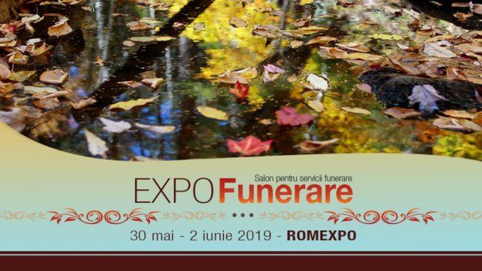 Afis Ediția 2019 a târgului EXPO FUNERARE