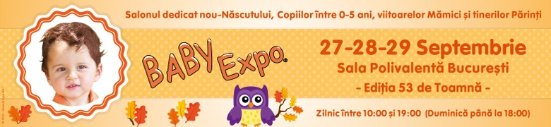 Afis BABY EXPO Editia 53 de Toamna 2019