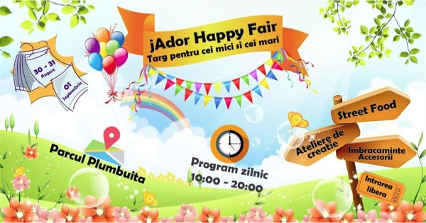 Afis jAdor Happy Fair 2019