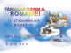 Afis Târgul de Turism al României - ediția de toamnă 2019