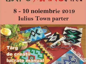 Afis Expo Manuart - târg de produse realizate manual, la Timișoara