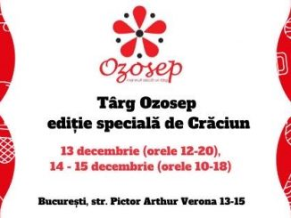 Afis Ozosep – ediția specială de Crăciun 2019 la București