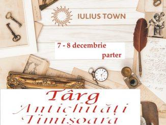 Afis Târgul de Antichităţi Handmade & Vintage, Ediţia 170,Timișoara