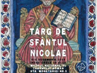 Afis Târgul de Sfântul Nicolae 2019, București