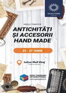 """Expoziția cu vânzare """"Antichități , handmade și vintage"""", la Timişoara"""