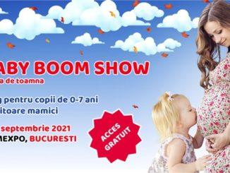 Baby Boom Show - târg pentru copii şi viitoare mămici, în septembrie, la Romexpo