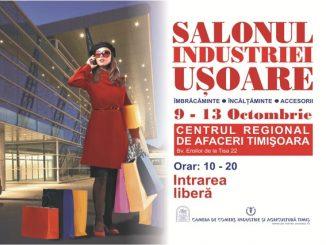 Afis Salonul Industriei Ușoare - ediția de toamnă 2019