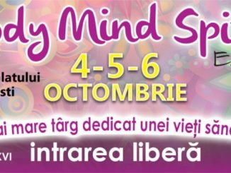 Afis Body Mind Spirit Expo 2019 - ediția de toamna