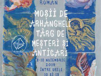 Afis Moșii de Arhangheli – Târg de meșteri și anticari, la București